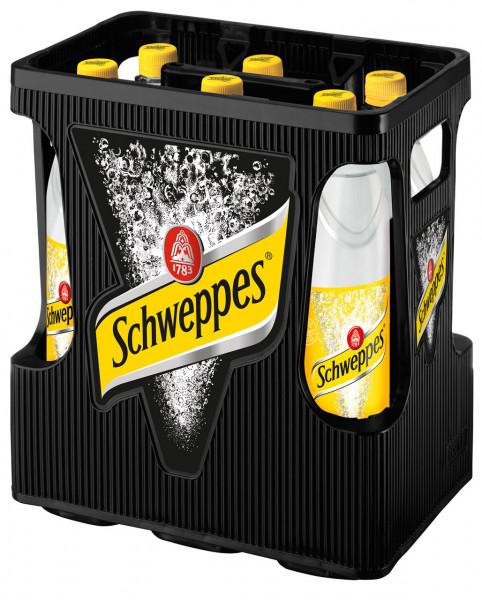 Schweppes Indian Tonic Water PET - 6 X 1