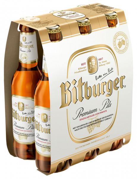 Bitburger Pils 6 X 0,33