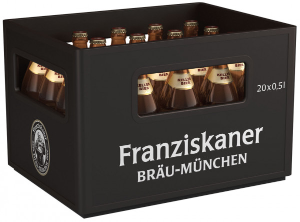 Franziskaner Kellerbier - 20 X 0,5