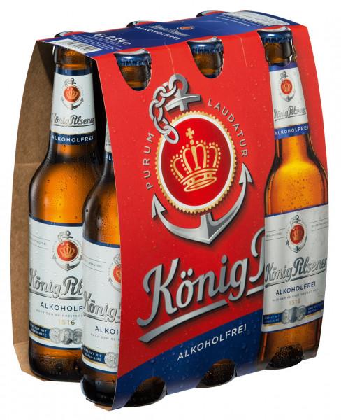 König Pilsener alkoholfrei 6 X 0,33