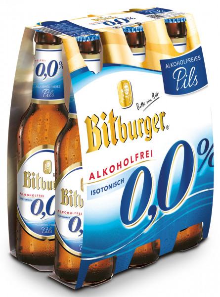Bitburger 0,0% alkoholfrei 6 X 0,33