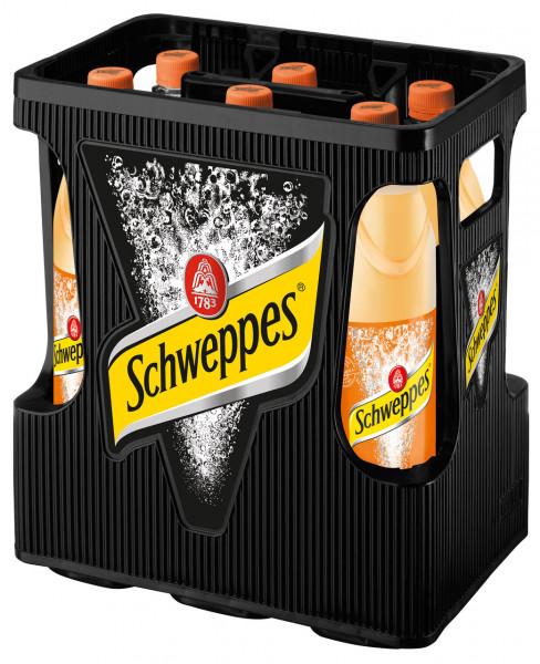 Schweppes Bitter Orange PET - 6 X 1