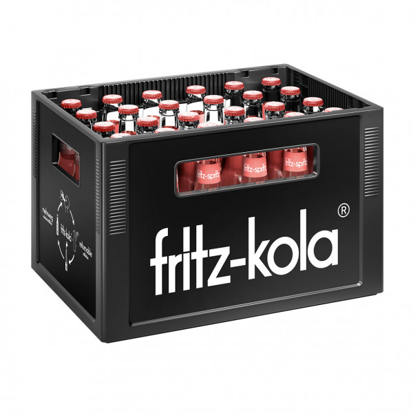Fritz spritz Bio Rhabarber Schorle - 24 X 0,33