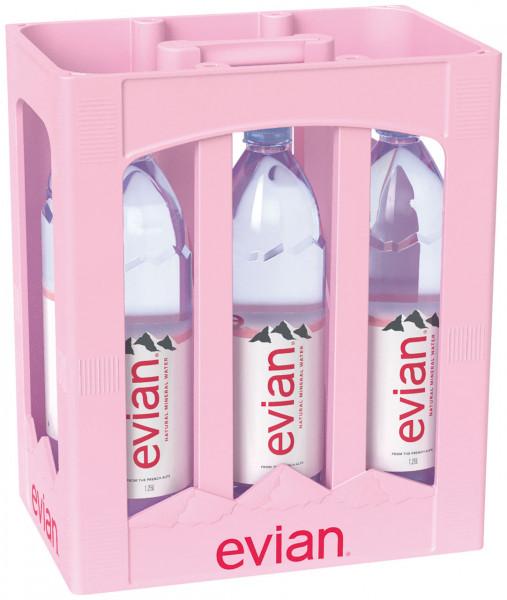 Evian - 6 X 1,25