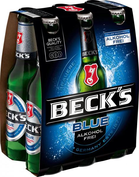 Becks BLUE alkoholfrei 6 X 0,33