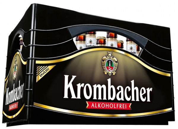 Krombacher alkoholfrei - 24 X 0,33