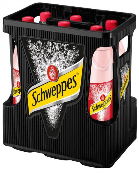 Schweppes Russian Wild Berry PET - 6 X 1