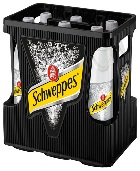 Schweppes Dry Tonic Water - 6 X 1