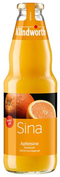 Klindworth SINA Apfelsinensaft - 6 X 1