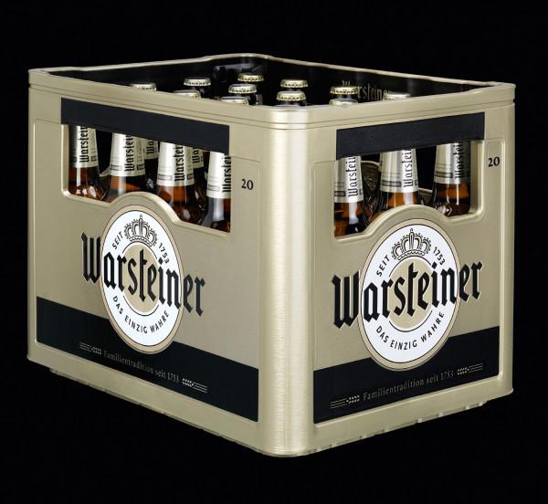 Warsteiner Pils - 20 X 0,5