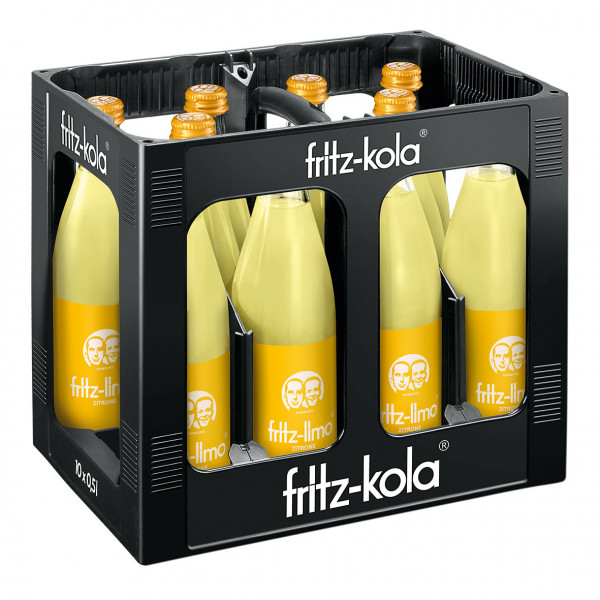 Fritz Limo Zitrone - 10 X 0,5
