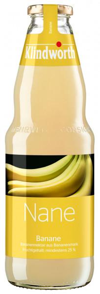 Klindworth NANE Bananen-Nektar - 6 X 1