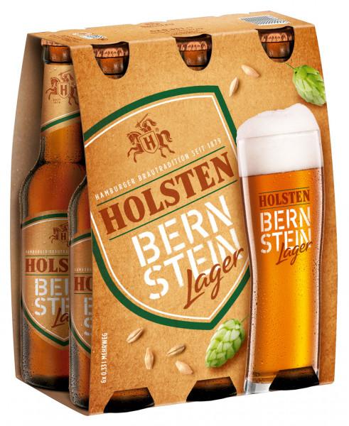 Holsten Bernstein Lager 6 X 0,33