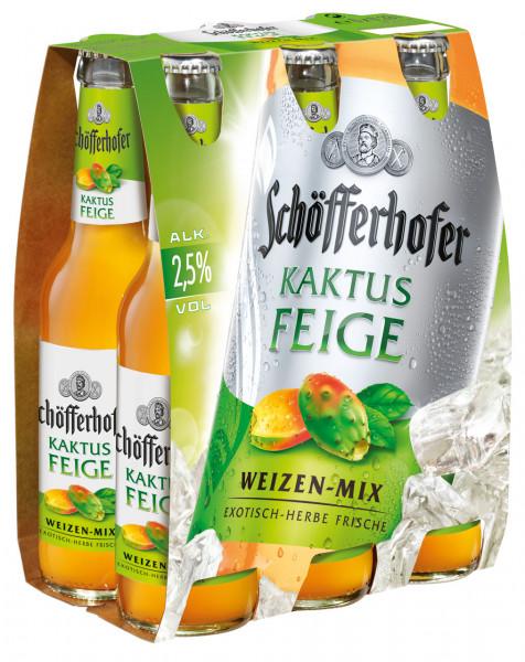 Schöfferhofer Kaktusfeige 6 X 0,33