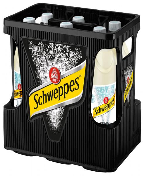 Schweppes Bitter lemon Light PET - 6 X 1