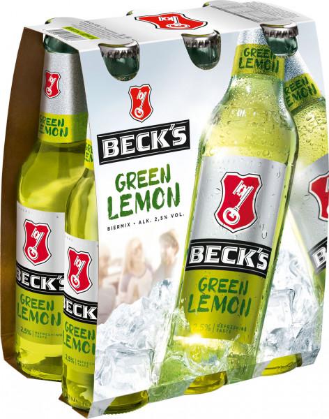 Becks Green Lemon6 X 0,33