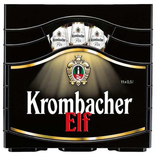 Krombacher Pils Elf - 11 X 0,5