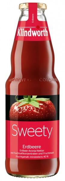 Klindworth SWEETY Erdbeer-Nektar - 6 X 1