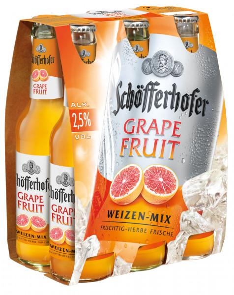 Schöfferhofer Grapefruit 6 X 0,33