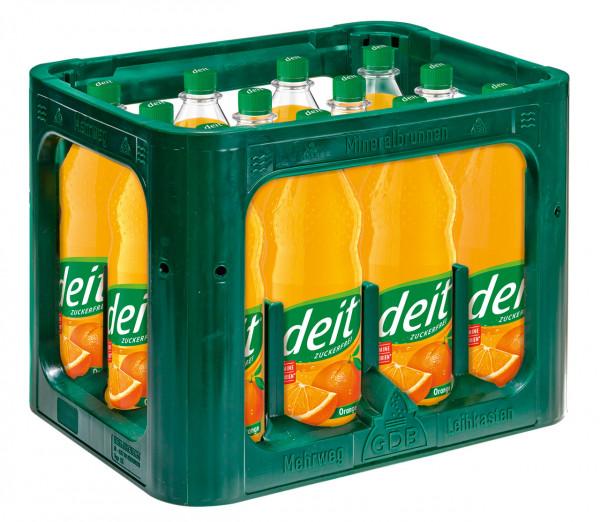 Deit Orange PET - 12 X 1