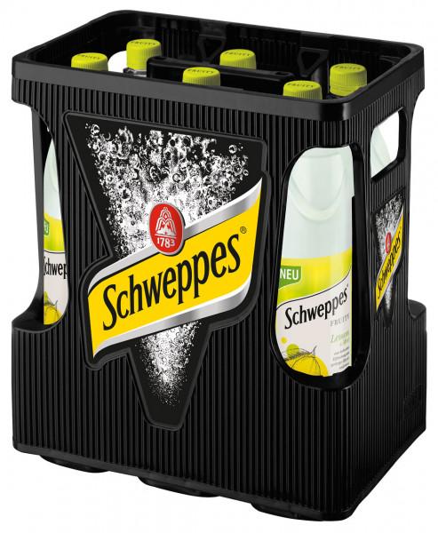 Schweppes Fruity Lem&Mint PET - 6 X 1
