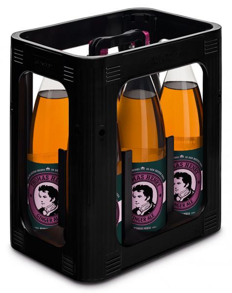 Thomas Henry Ginger Ale PET - 6 X 1