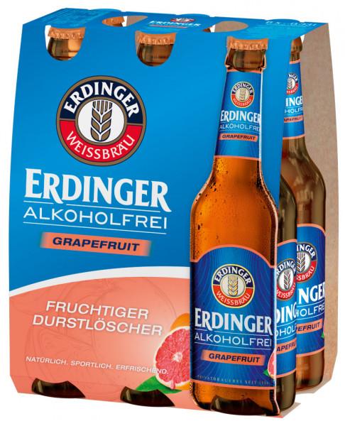 Erdinger Alkoholfrei Grapefruit 6 X 0,33