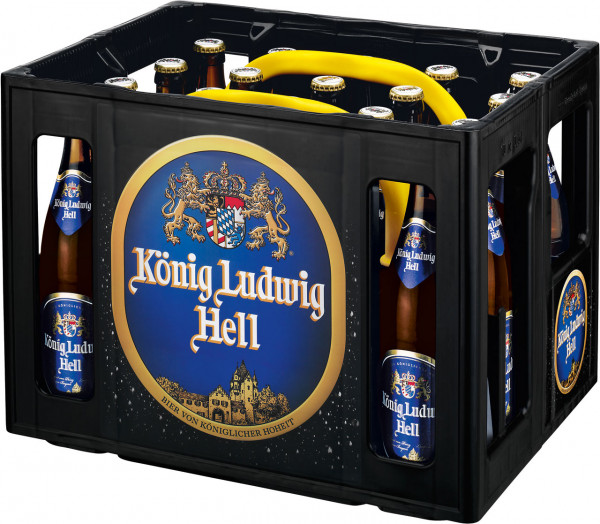 König Ludwig hell (Splittkst.) - 20 X 0,5