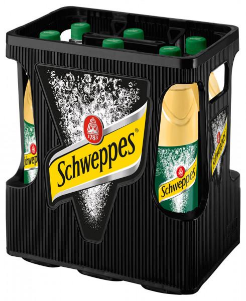 Schweppes Ginger Ale PET - 6 X 1