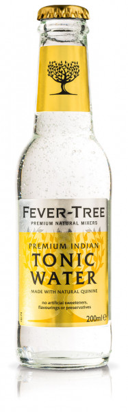 Fever Tree Indian Tonic Water - 24 X 0,2