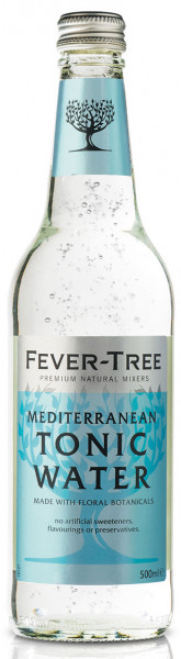 Fever-Tree Mediterranean Tonic - 8 X 0,5