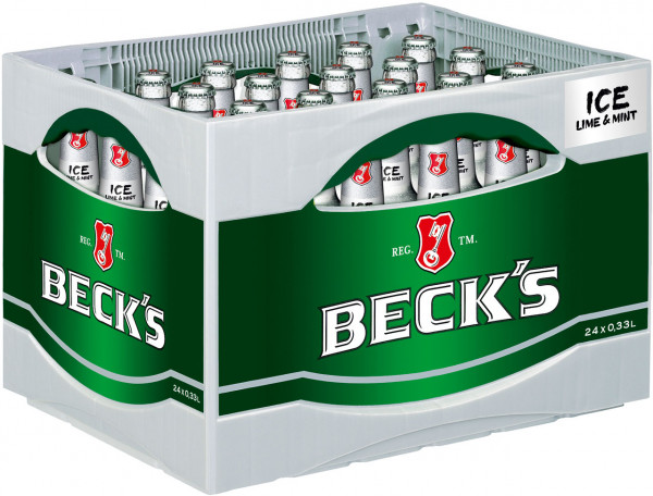 Becks Ice - 24 X 0,33