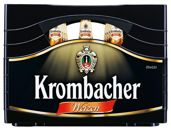 Krombacher Weizen - 20 X 0,5