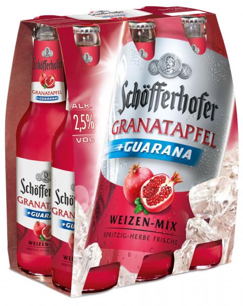 Schöfferhofer Granatapfel + Guarana 6 X 0,33