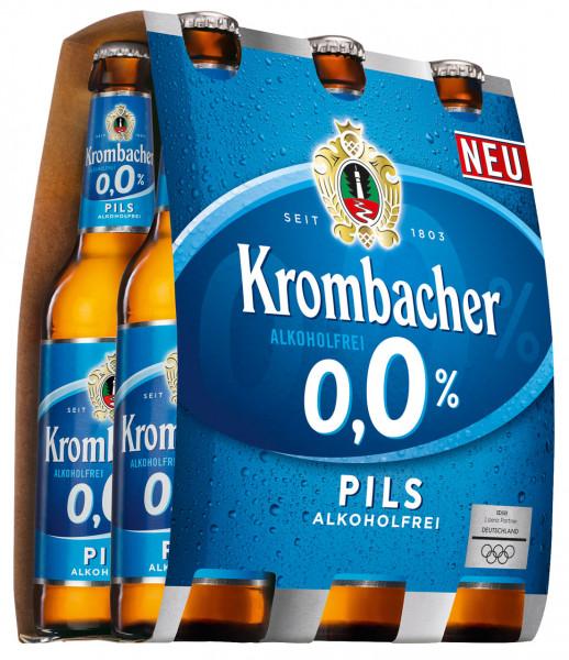 Krombacher 0,0% Pils Alkoholfrei 6 X 0,33