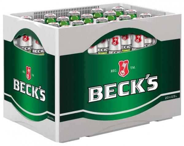 Becks Pils - 20 X 0,5