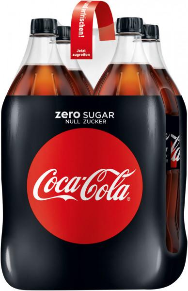 Coca Cola Zero DPG EW - 4 X 1,5