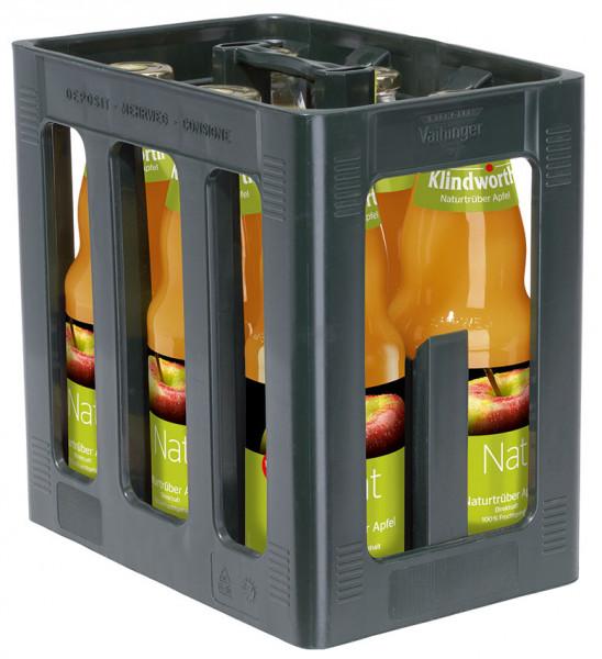 Klindworth Apfel klar direkt - 6 X 1