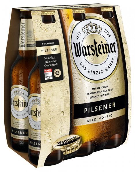 Warsteiner Pils 6 X 0,33