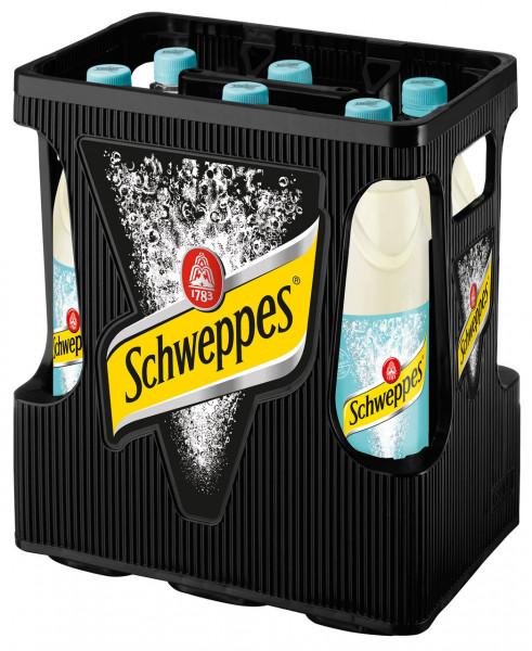 Schweppes Bitter Lemon PET - 6 X 1