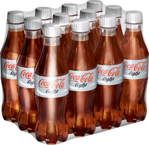 Coca Cola Light DPG in der Kiste - 12 X 0,5