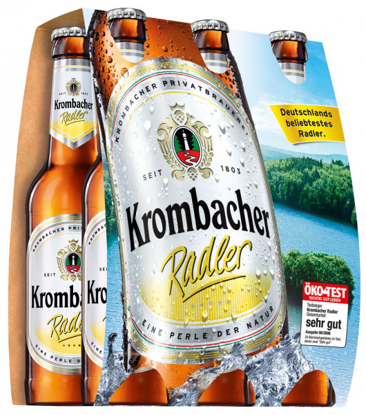 Krombacher Radler 6 X 0,33