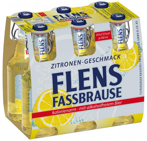 Flensburger Fassbrause Zitrone BGV 6 X 0,33