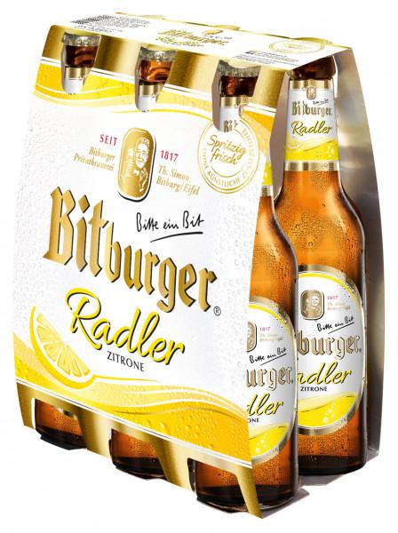 Bitburger Radler 6 X 0,33