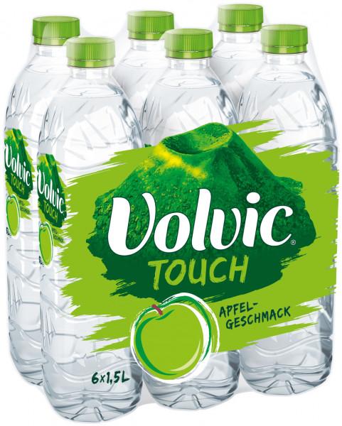 Volvic Touch Apfel PET-C - 6 X 1,5