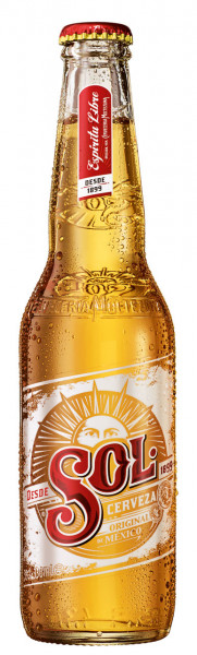 Sol Mexican Beer - 24 X 0,33