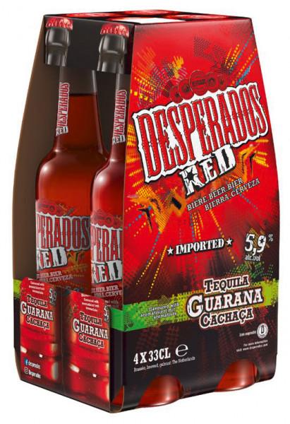 Desperados Red 4 X 0,33