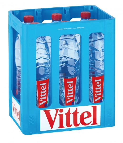 Vittel Mineralwasser PET-C - 6 X 1,5