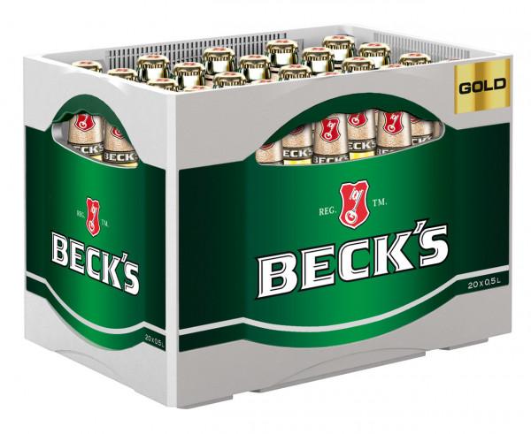 Becks Gold - 20 X 0,5