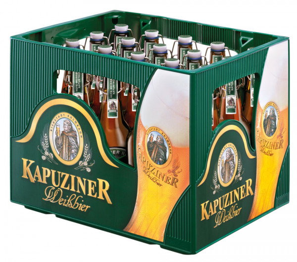 Kapuziner Weißbier BGV - 20 X 0,5